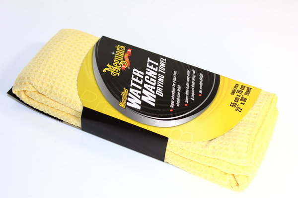 Meguiars Water Magnet Trockentuch Drying Towel Mikrofaser 76x55 mm X2000EU